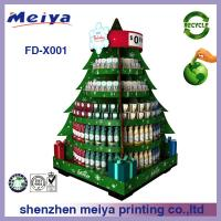 Christmas Festival Decoartive Cardboard Display Stands For Gifts