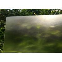 Cheap Solar Panel High Transmittance Glass , Low Iron Toughened Glass 91.5 % Light Transmittance for sale