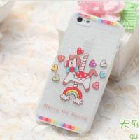 Quality Ultra Thin Red Rose On Snow Skin Phone Shell For IPhone 5/5S Case wholesale