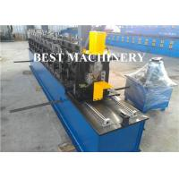 Steel Wall Angle Bar Cold Roll Forming Machine L Shape Bead Perforated
