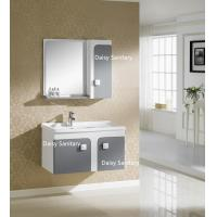 Cheap Side Mirror Cabinet All In One Bathroom Vanity Thin Top Or Polymarble for sale