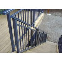 Cheap Eco Friendly Lightweight Exterior Aluminum Stair Railings Without Glass ISO for sale