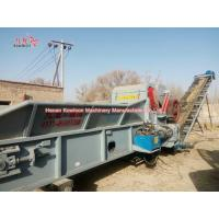 Cheap PLC Control Wood Pallet Crusher Bulky Wood Waste Recycling ISO Certificate for sale