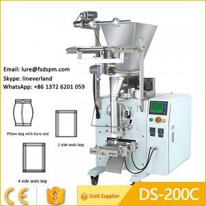 China DS-200C Full Automatic Measurement  Washing Powder Detergent Powder Packing Machine on sale