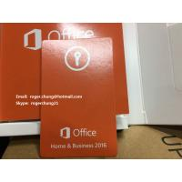 Buy cheap Fast delivery Microsoft Office 2016 Home Business Product Key Cards free from wholesalers