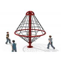 Cheap Outdoor Climbing Rope Structures / Kids Climbing Net Easy To Install  KP-PW025 for sale