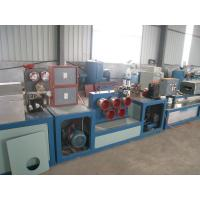 Cheap PP / PET Strapping Roll Manufacturing Machine Single Screw Design High Efficiency for sale