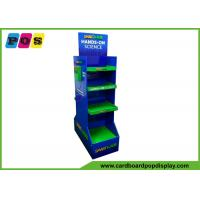 Glossy Shiny Free Standing Cardboard Displays Double Sided For Sicence Toys And Games FL166