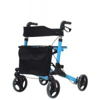 Cheap Adult Medical Folding Walker Folding Drive Medical Four Wheel Walker Rollator for sale