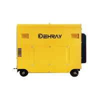 Cheap 3600rpm 6KVA Portable Diesel Inverter Generator Single Cylinder For Home for sale