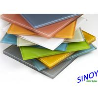 Cheap 3mm To 8mm Water Proof Back Painted Glass For Interior Designs And Decorations for sale