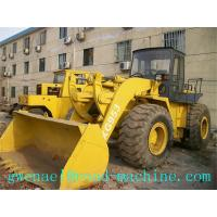 Cheap 3090mm Diesel Compact Wheel Loader LW500KL / 3 m³ , 17.4t Payload for sale