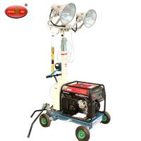 Cheap MO-5659 Towable Vehicle Mounted Portable Light Towers for sale