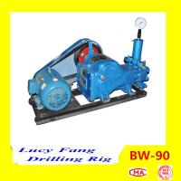 Cheap China Hot Top Quality Portable BW-90 Mud Pump for Diamond Core Drilling with 300 m Depth for sale