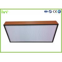 Quality H10 - H14 Efficiency Hepa Filter Replacement , Pleated Panel Air Filters Easy To wholesale