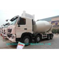 Cheap SINOTRUK HOWO 371HP 10cbm 8x4 Concrete Mixer Trucks with EURO2 Standard , Diesel Truck for sale