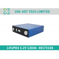 Buy cheap Factory OEM 3.2V 120Ah LiFePO4 battery for solar home storage and electric cars from wholesalers