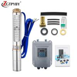 Cheap 60-80m head solar pumping water machine solar pump control unit with solar panel for sale