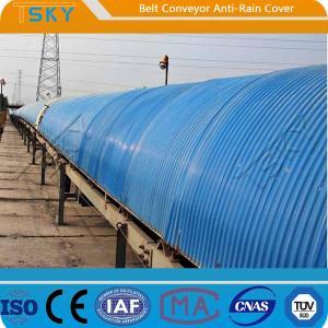 Cheap Anti Rain Belt Conveyor Cover SGS Batching Plant Spare Parts for sale