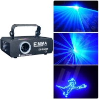 Buy cheap Single color 2W blue with SD card animation laser light programmable animation from wholesalers
