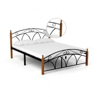 Cheap Waterproof Queen Size Metal Bed Strong Load Bearing Capacity Simple Style for sale