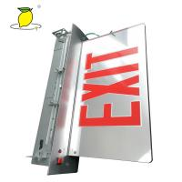 Cheap Battery Operated Emergency Lighting Fire Exit Signs 2835 SMD LED Type for sale