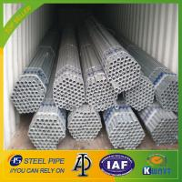 Q195 /Q235 Chinese manufacturer hot dipped galvanized steel pipe Manufactures