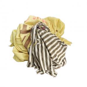 Cheap Hygienic 1kg/bale 85% Cotton Colored T Shirt Rags for sale