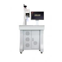 Cheap Small Size 1064nm RECI Desktop Laser Engraving Machine Easy To Operate for sale