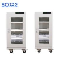 Cheap LED Display Dry Cabinet For Electronic Components 160L Medium 20% - 60%RH Humidity for sale