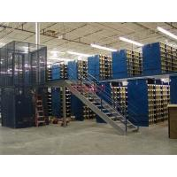 Cheap Exhibition Mezzanine Floor Platform , Warehouse Mezzanine Floors Customized Height for sale