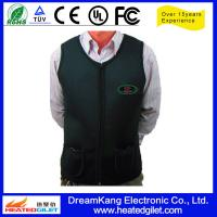 Cheap Heate vest with control 5 to 12V Battery for sale