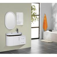 Round type 15mm PVC Material ceramic vanity top with integrated sink 90 X 45 / cm Manufactures