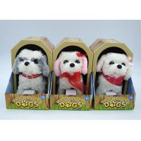 Cheap Electronic Children's Moving Puppy Toy , Toy Walking Dogs That Bark And Walk for sale