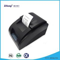 Cheap Zjiang 5890D Supermarket 58MM Ticket Printer Thermal Pos Printer with Ethernet / Serial / Parallel Port for sale