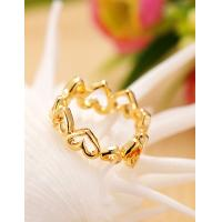 Cheap 2015 Fashion Korean 18K Gold Plated Wedding Rings for Women in Jewelry Factory Direct for sale