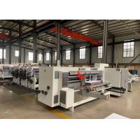 Buy cheap Model 2200 X 800 Corrugated Paperboard Automatic Slotter And Creaser Machine / from wholesalers