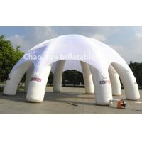 Cheap 6m Diameter White Inflatable Dome Tent for outdoor event for sale