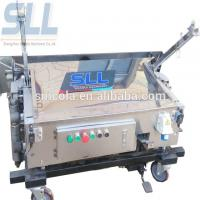 Cheap Automatic Wall Plastering Machine / Robot Plaster Machine 150-180m2/h for sale