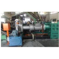 High Output Pvc Single Screw Strainer Extruder With Double Head Strainer Manufactures