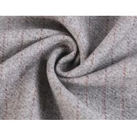 Cheap 50% Wool 40% Polyester One Sided 1.2cm Stripe Melton Fabric For Women'S Jacket for sale