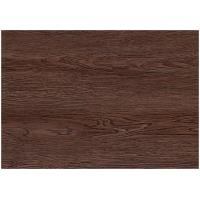 Cheap Dark Wood Grain PVC Vinyl Flooring For Office / Shopping Mall Eco - Friendly for sale