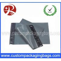Cheap Grey Poly Mailing Bags / Plastic inflatable packaging for Transportation for sale