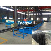 CT100-600 Electric Cable Ladder Roll Forming Machine for Making Steel Cable Tray Ladder Profile Sheets Manufactures