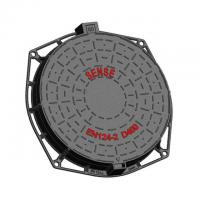 Cheap Drainage Round Cast Iron Recessed Manhole Cover , Manhole Cover Lid for sale