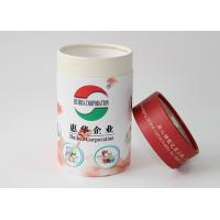 Cheap Light weight Round Cardboard storage cylinder Tubes Food Packaging , paper tea cans for sale
