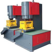 Cheap Numerical Control Hydraulic Ironworker Machine For Cutting / Punching for sale
