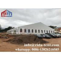 Buy cheap 200 Person Stretch Wedding Marquee Tent / Aluminum Alloy White Marquee Tent from wholesalers