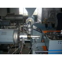 PP / PE Single - Wall Corrugated Plastic Pipe Extrusion Machinery For Washing Machine Manufactures