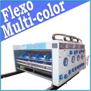 Cheap carton 2 color printer slotter machine, automatic, 150pcs/Min. for sale